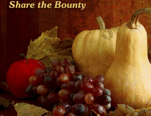 Share the Bounty – November