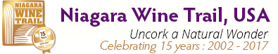Niagara Wine Trail, USA Retina Logo